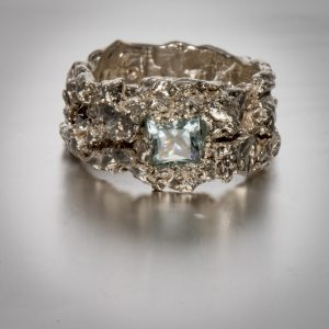 Handmade silver jewellery - Valentina Garau Bissoneli. Cala Luna Faith