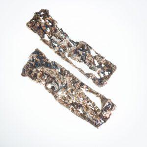 Large Gorropu Plates. Handmade silver jewellery - Valentina Garau Bissoneli